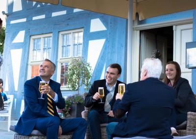 Steffen Wernard - Bürgermeister Stadt Usingen -  Historisches Liefrink-Haus Marktplatz Usingen- 2015 - IMG_8683