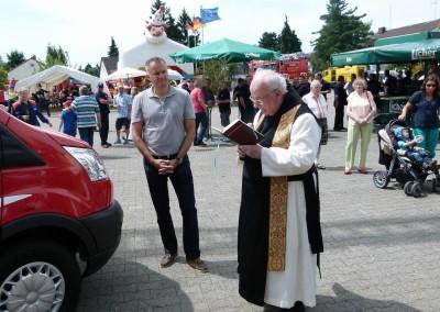 Steffen Wernard Bürgermeister der Stadt Usingen. Foto öffentliche Veranstaltung.