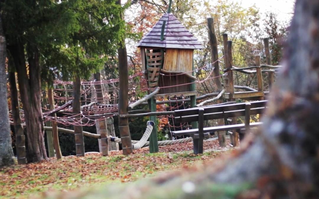 Abenteuer und Erholung – Der neue Spielplatz im Schlossgarten Usingen