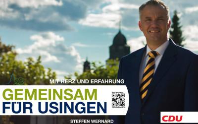 Bürgermeisterwahl Usingen 2016 – Steffen Wernard bestätigt Kandidatur