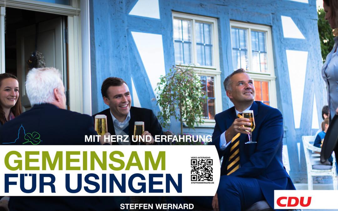 Usingen wählt – Wahlkampfveranstaltung in Usingen