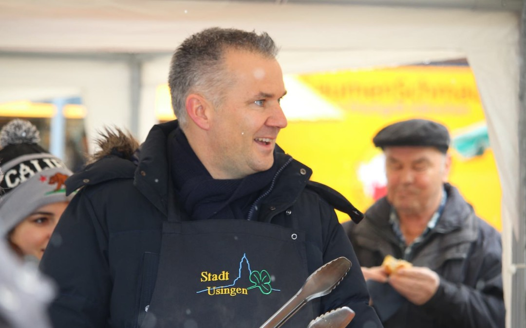 Grillen mit Steffen Wernard sorgte für tolle Stimmung