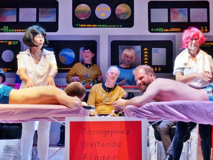 Galaktische Stimmung an Bord der Enterprise